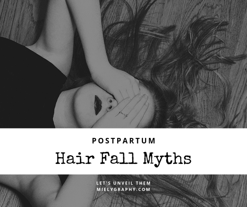 Hair fall myths after giving birth???