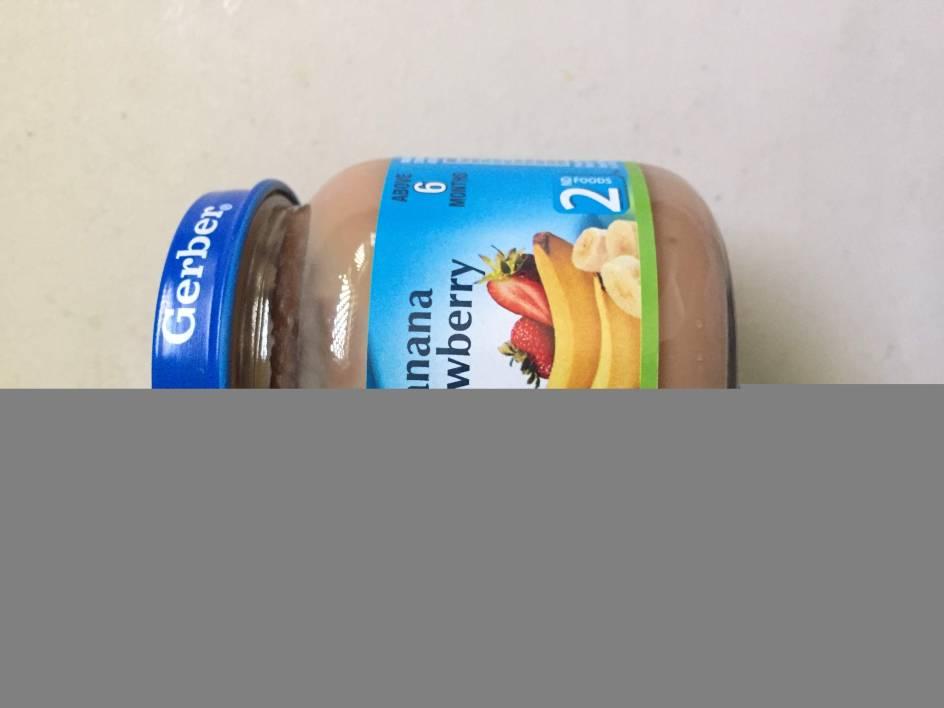 Gerber baby food shelf life
