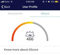 globe gcash gscore update