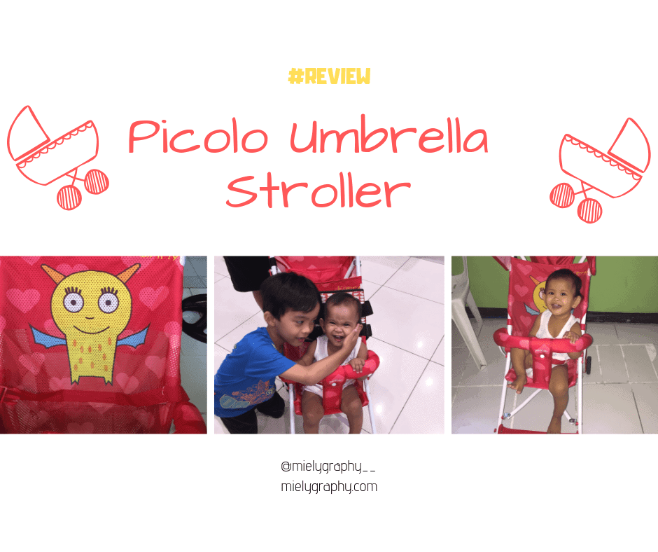 Picolo Umbrella Typed Stroller Review(A gift from my mom)
