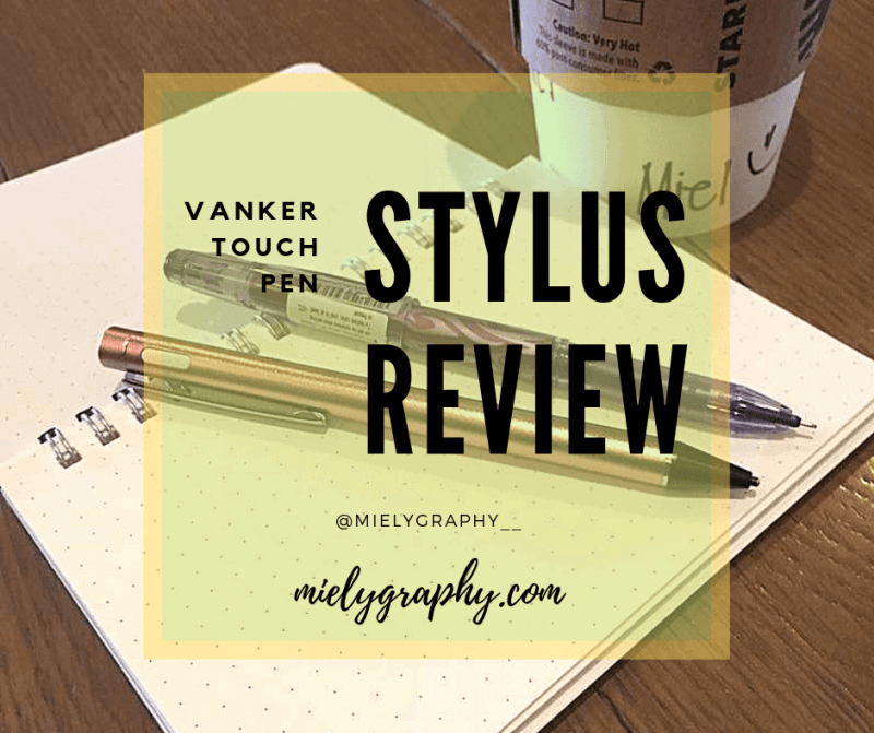 Review: Vanker Rechargeable Stylus Pen for Capacitive Touchscreens