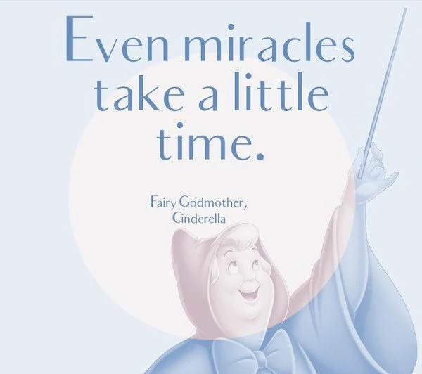 miracle takes time