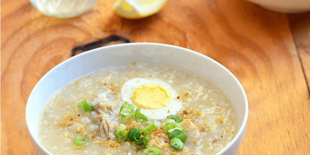 arrozcaldo hot porridge can help your fever