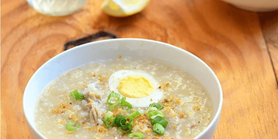 arrozcaldo hot porridge can help your fever
