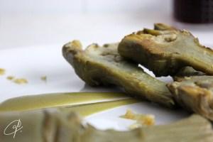 alcachofas con salsa 2