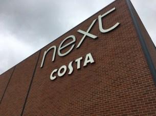 Next plus Costa Coffee