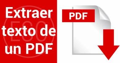 Como extraer el texto de un PDF en Mac