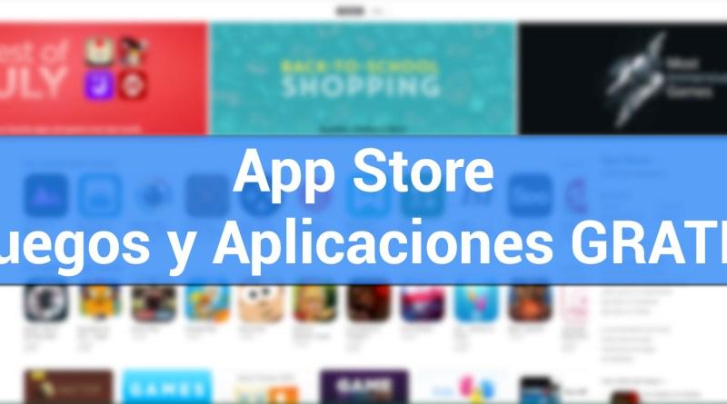 Apps y Jugos gratis para iPhone y iPad