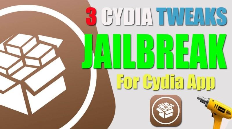 cydia tweaks cydia