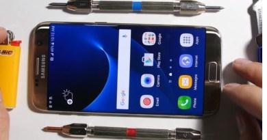 Qué tan resistentes son los nuevos Samsung Galaxy S7