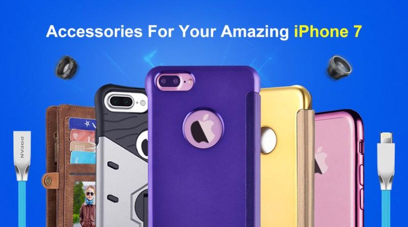 Accesorios increíbles para iPhone 7 en GearBest