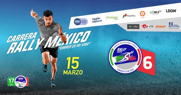 Se prepara la sexta edición de la Carrera Atlética Rally México