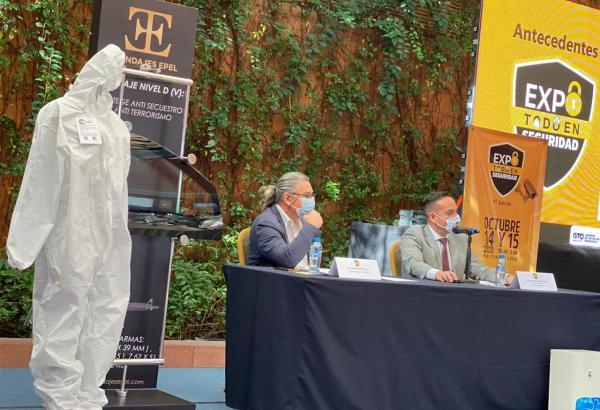Primera edición de EXPO TODO EN SEGURIDAD