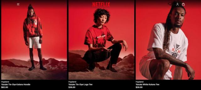 Netflix lanza una tienda online con artículos exclusivos de sus programas y películas