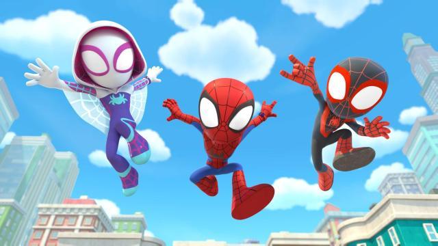 Spidey y sus sorprendentes amigos llegarán a Disney+