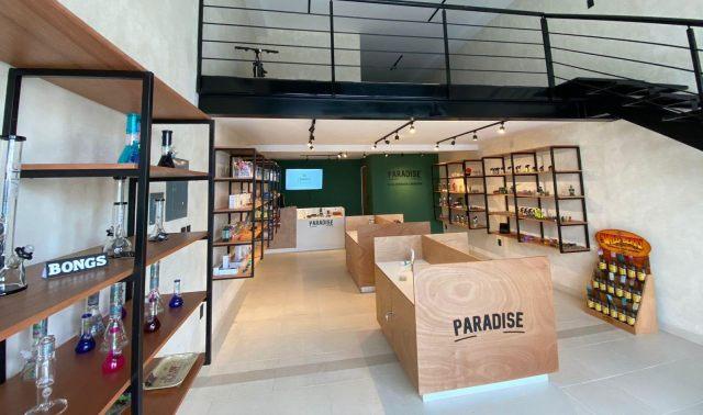 Abre tienda de productos derivados del cannabis