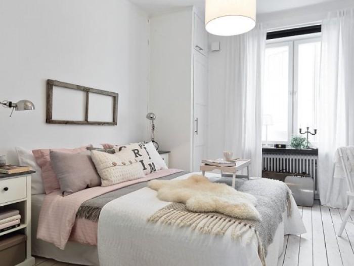 Romantyczne mieszkanie  Mieszkaniowe inspiracje