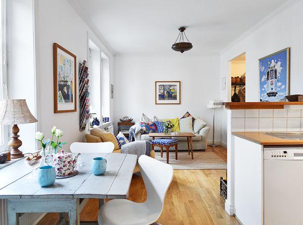 Przytulne mieszkanie  Mieszkaniowe inspiracje