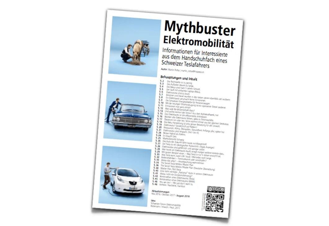 Mythbuster Elektroauto