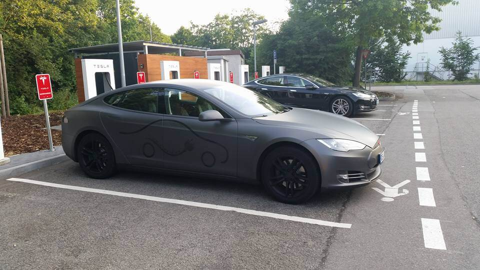 tesla model s 85 mieten in teisnach