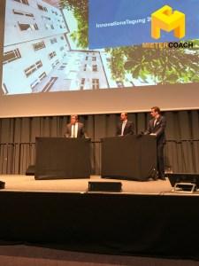 Podiumsdiskussion Makler Dirk Wohlfahrt, Prof. Michael Voigtländer (IW)