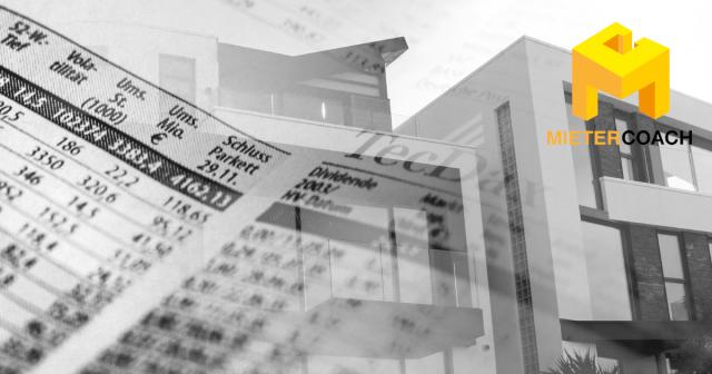 Immobilien: Mieten stagnieren Blasenrisiko wächst