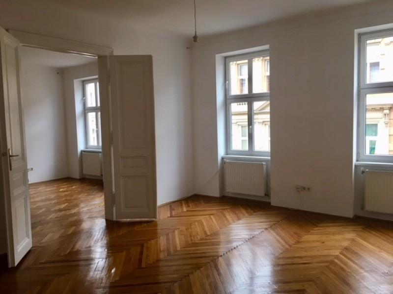 Klassische Altbauwohnung Custozzagasse Wien Mietguruat