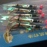 sabiki spécial reflet poisson peche maquereau bar lieu
