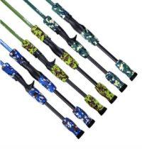 six cannes à pêche colori camouflage AliExpress pas chères