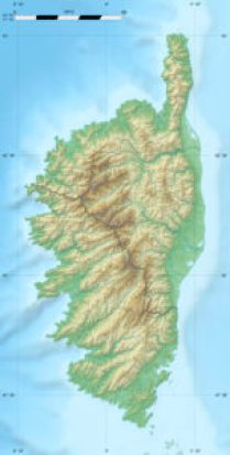 Peche du bord en Corse
