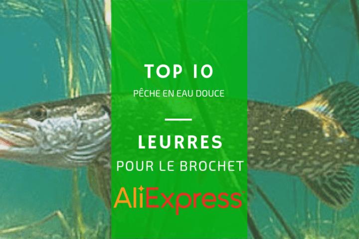 Liste de leurres AliExpress pour le brochet pas chers