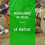 Explications sur le ratio du moulinet de pêche bobine manivelle