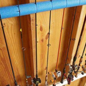 pêche fermée ranger son matériel