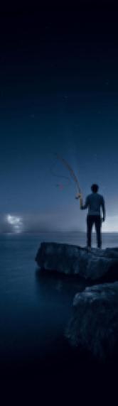 pêche de nuit hiver vent froid