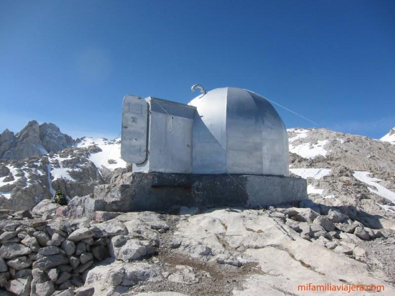 Picos de Europa. Refugio Cabaña Verónica. Fuente Dé