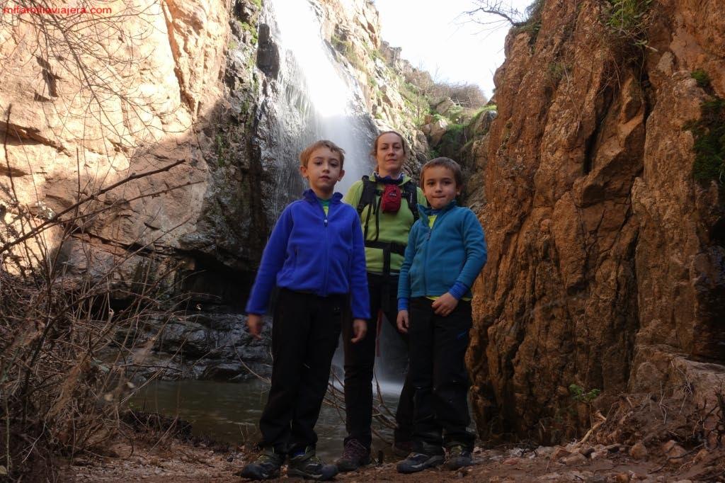 Cascada inferior de Las Pilas