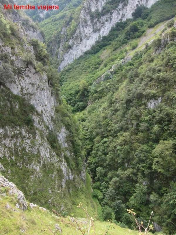 Desfiladero de Las Xanas, Asturias