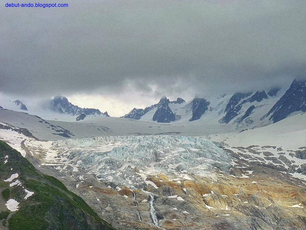 Collado de Balme - Glaciar de Tour