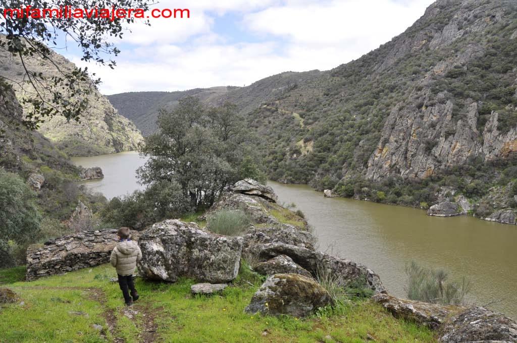 Mirador de Rupurupay y cascada de El Remolino, Aldeadávila de la Ribera, Salamanca
