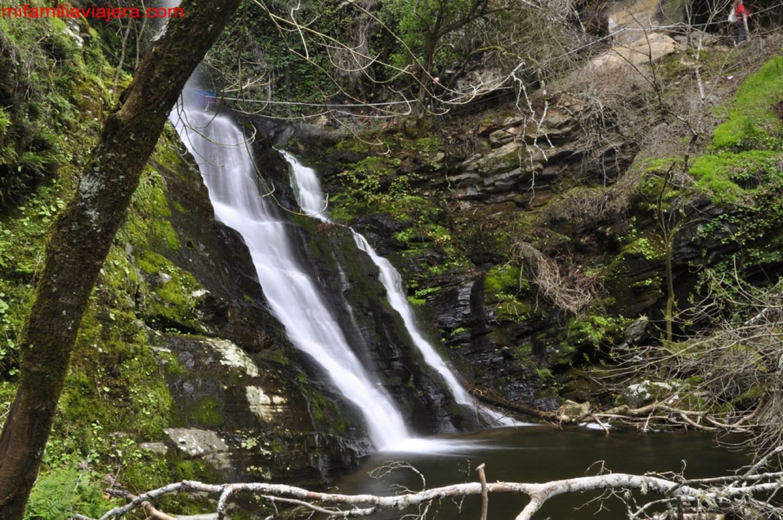 Cascada de Pinero, Corporario, Masueco, Salamanca