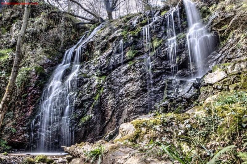 Cascadas de Guanga o Buanga, San Andrés de Trubia, Oviedo, Asturias