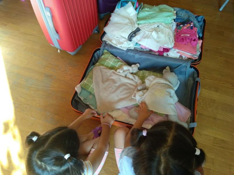 hacer maletas
