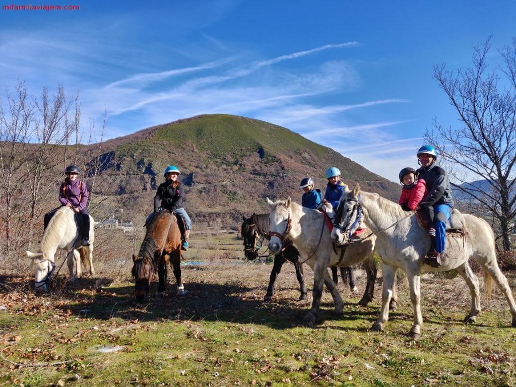 Montar a caballo en el Valle de Laciana