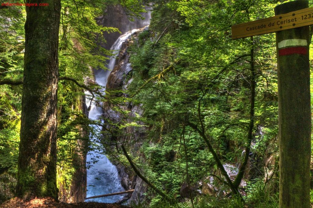 Cascada du Cerisey, Cauterets