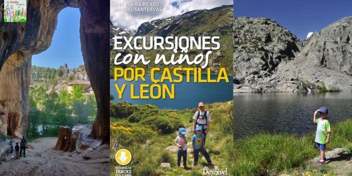 Libro excursiones con niños por Castilla y León