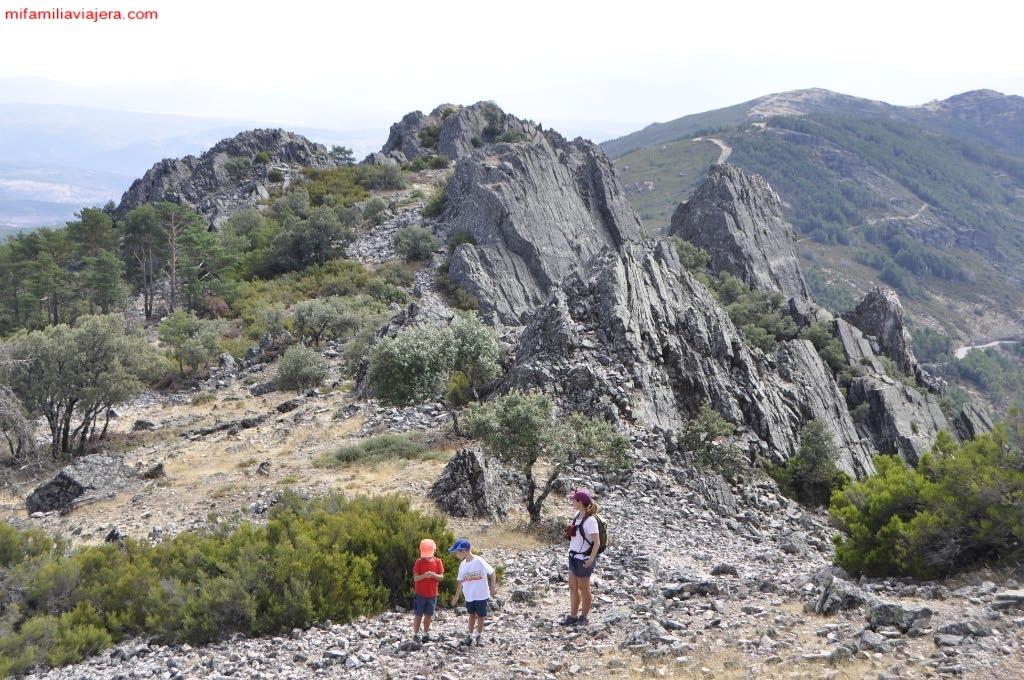 Las vistas de la Sierra de Francia son inmejorables