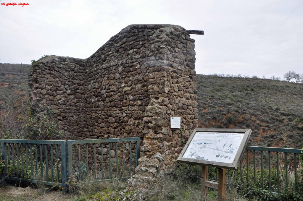 Ruinas de las casas mineras