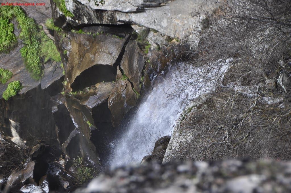 Cascada del Mirador del Fraile y la Monja