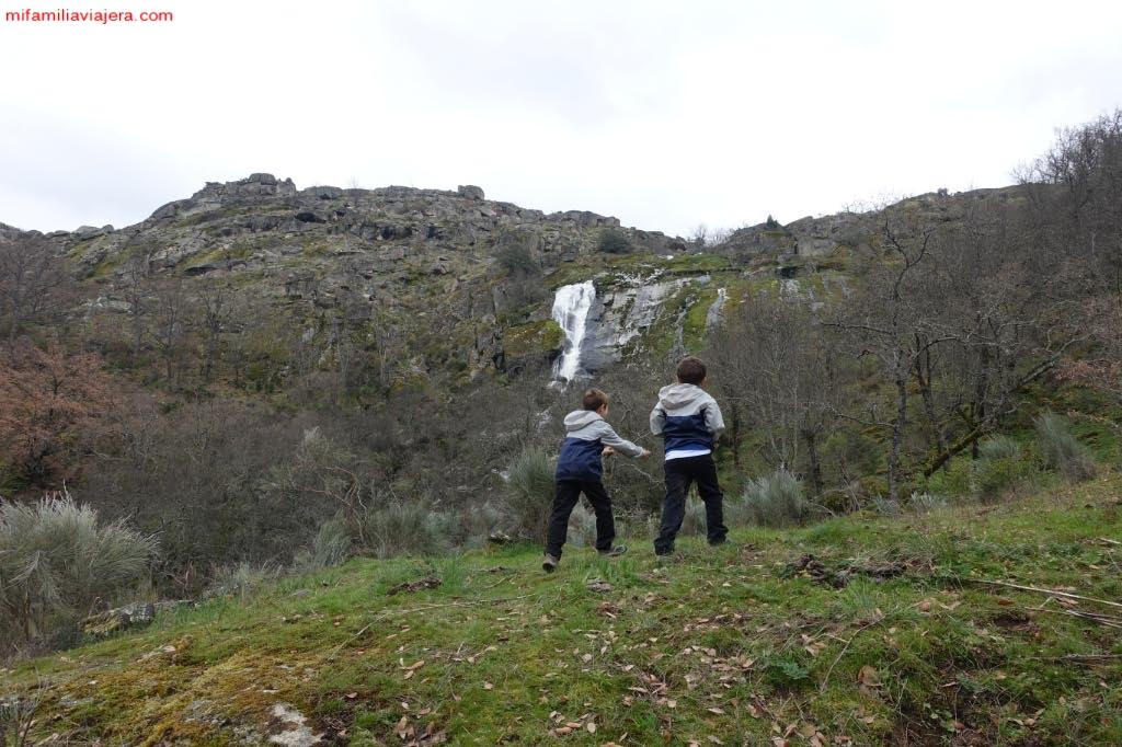 Panorámica Cascada del Desgalgadero