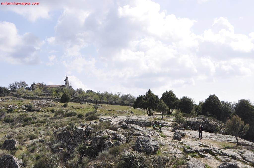 Regreso a la ermita del Castillo
